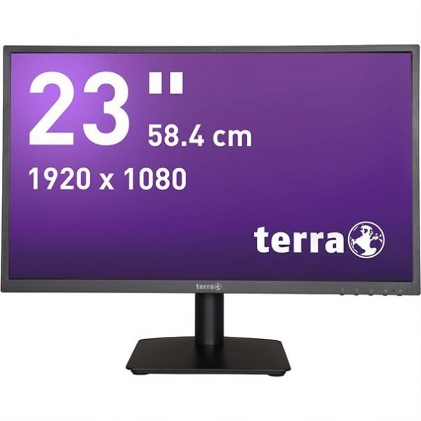 "23"" Terra LED 2311W TFT-Display HDMI -mattschwarz-"