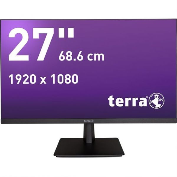 "27"" Terra LED 2763W Greenline Plus TFT-Display -mattschwarz-"