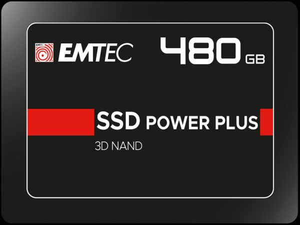 512GB EMTEC SSD Festplatte Power Plus 3D Nand