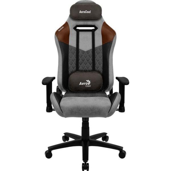 AeroCool Gaming Stuhl AC280 DUKE Alcantara style Tan Grey