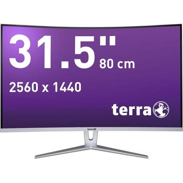"31,5"" TERRA LED 3280W silver/white CURVED DP/HDMI"