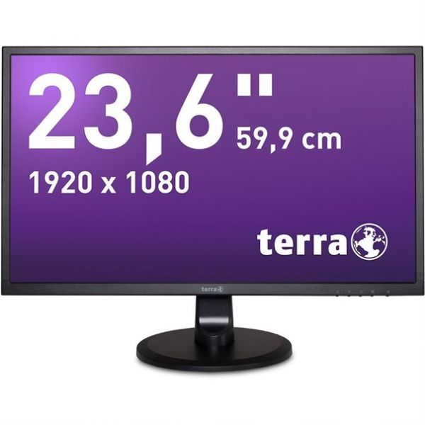 "23,6"" Terra LED 2447W TFT-Display -mattschwarz-"