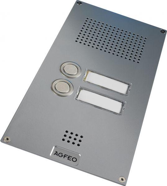Agfeo TFE 2 Premium Türsprechstelle -silber-