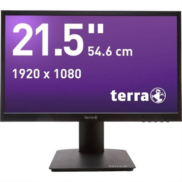 "21,5"" TERRA LED 2226W PV black HDMI GREENLINE PLUS"