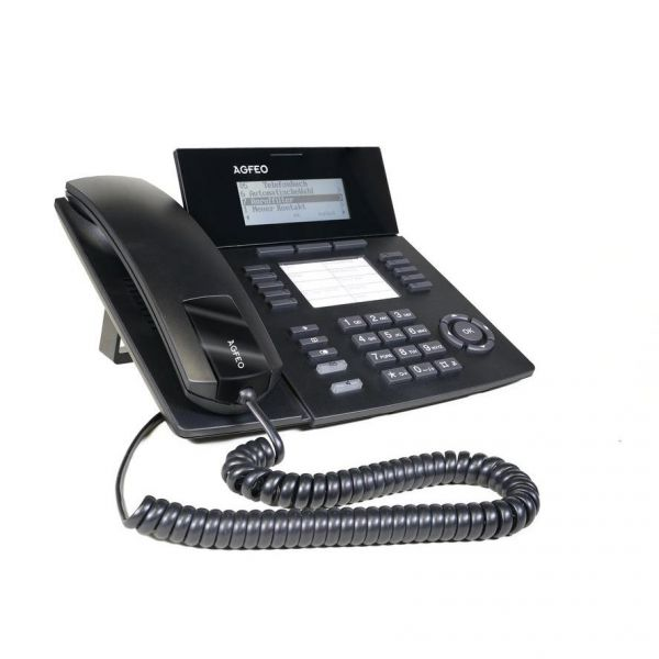 Agfeo Systemtelefon ST53 IP SENSORfon schwarz