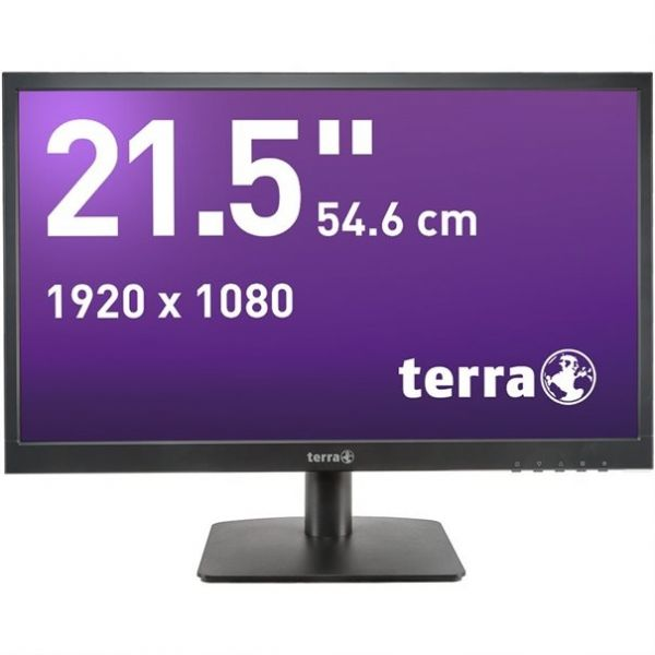 "21,5"" TERRA LED 2226W black HDMI GREENLINE PLUS"