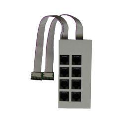 Agfeo Up0-Modul 508 Modulfrontplatte -weiß-