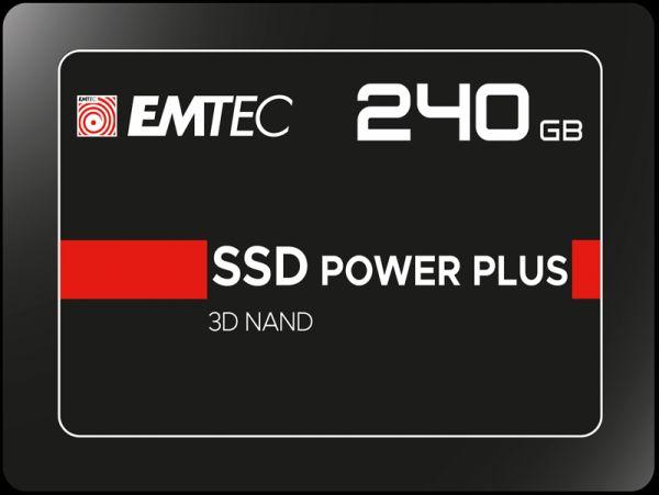 240GB EMTEC SSD Festplatte Power Plus 3D Nand