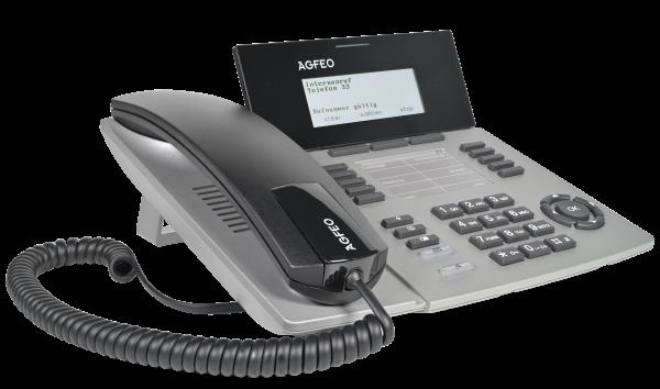 Agfeo Systemtelefon ST54 IP SENSORfon silber