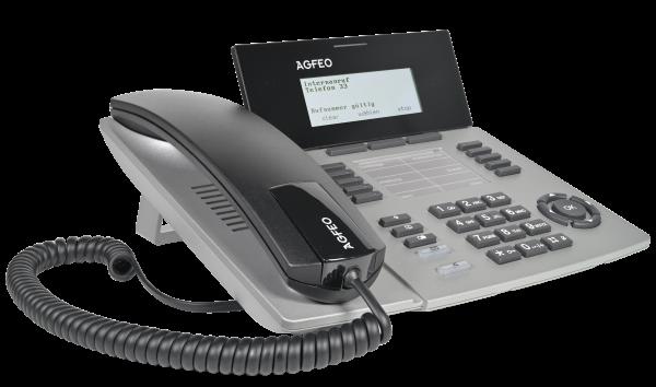 Agfeo Systemtelefon ST53 IP SENSORfon silber