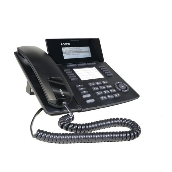 Agfeo Systemtelefon ST54 IP SENSORfon schwarz