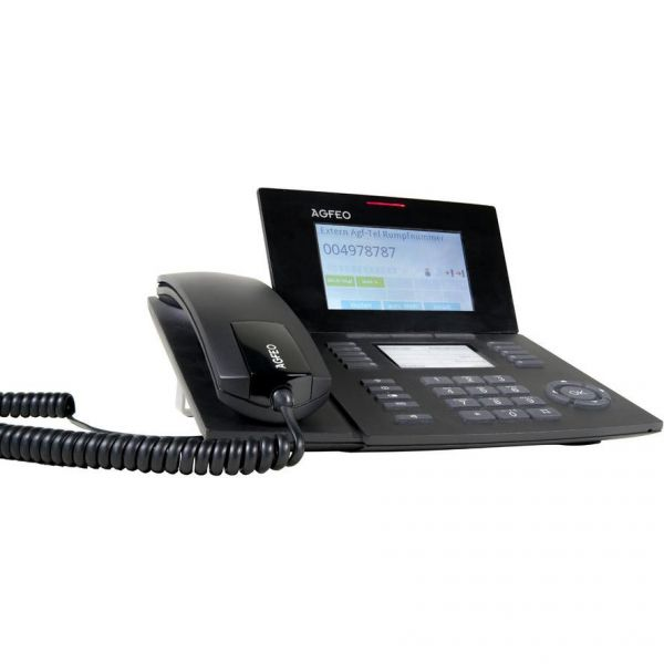 Agfeo Systemtelefon ST56 SENSORfon schwarz