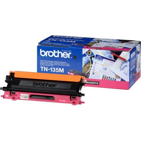 Brother Toner TN-135 Jumbo magenta (ca. 4000 Seiten)