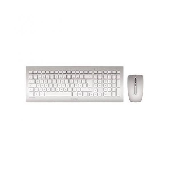 CHERRY DW8000 Wireless Desktop silber/weiß