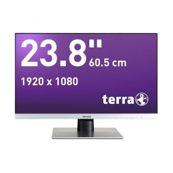 "23,8"" Terra LED 2462W TFT-Display -silber-"