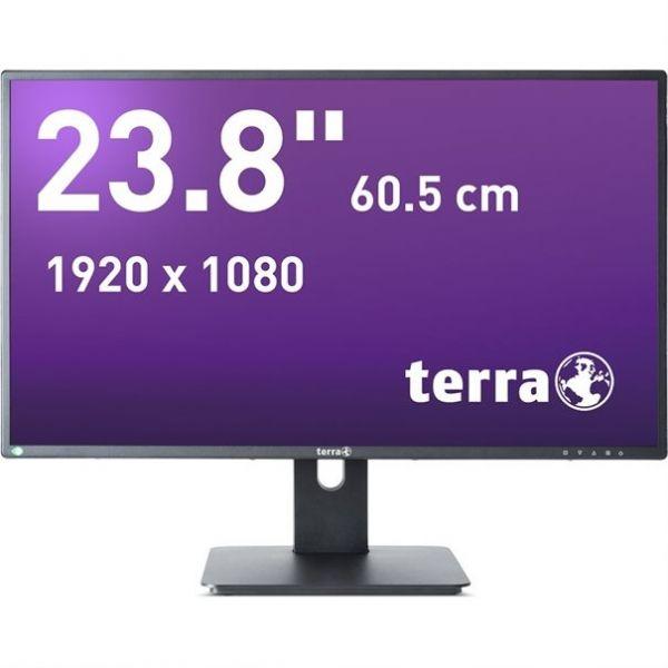 "23,8"" TERRA LED 2456W PV schwarz DP, HDMI GREENLINE PLUS"