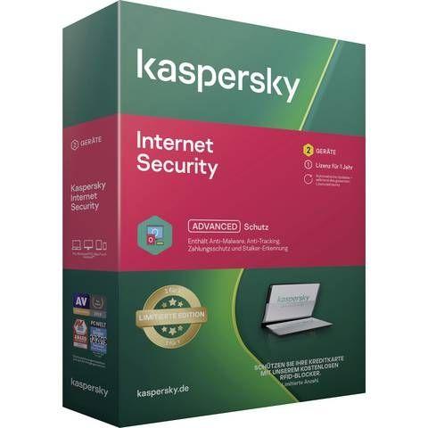 Kaspersky Internet Security 2Geräte inkl. RFID Karte Ltd. Edition