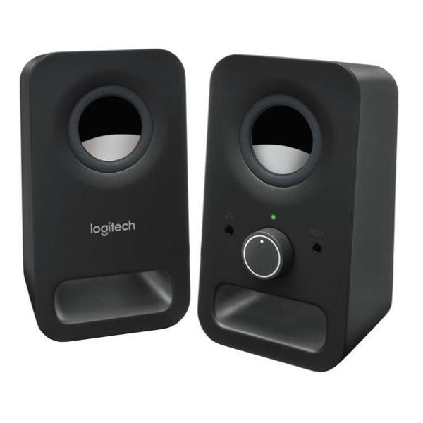 Logitech Z150 Speaker 2.0 Klinke schwarz