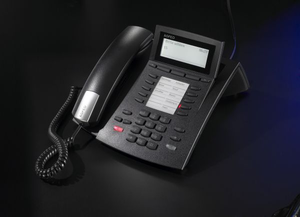 Agfeo ST42 Systemtelefon schwarz