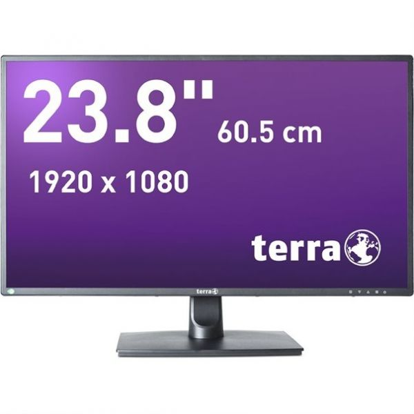 "23,8"" TERRA LED 2456W schwarz DP, HDMI GREENLINE PLUS"