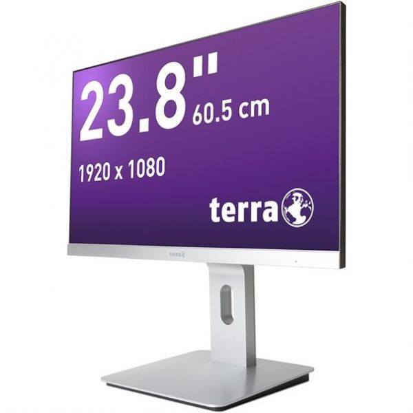 "23,8"" TERRA LED 2462W PV silber DP/HDMI GREENLINE PLUS"
