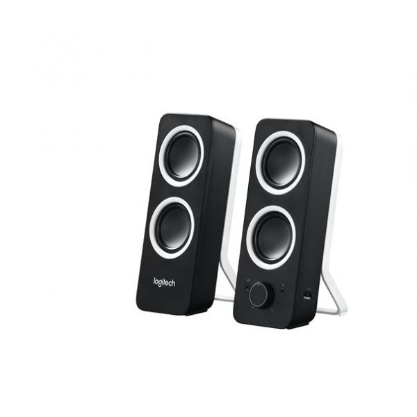 Logitech Z200 Speaker 2.0 Klinke schwarz
