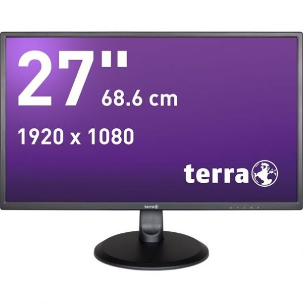 "27"" Terra LED 2747W TFT-Display Greenline -mattschwarz-"