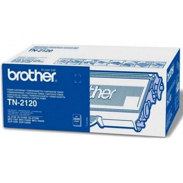 Brother TN-2120 Toner schwarz ca. 2500 Seiten