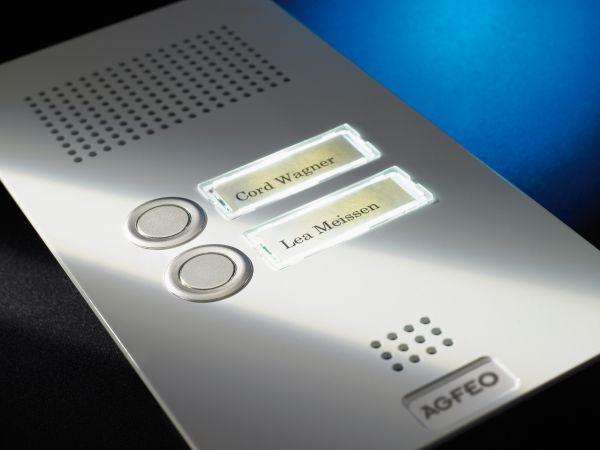 Agfeo TFE 2 Premium Türsprechstelle -weiß-