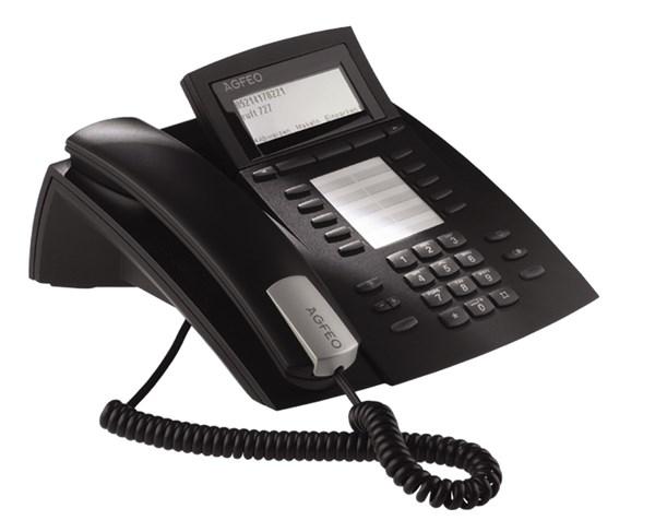 Agfeo ST42 AB Systemtelefon schwarz