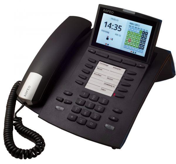 Agfeo ST45 IP Systemtelefon schwarz