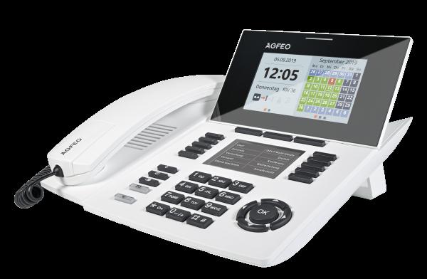 Agfeo Systemtelefon ST56 IP SENSORfon reinweiß