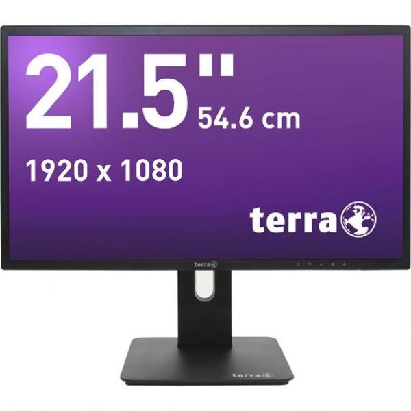 "21,5"" TERRA LED 2256W PV schwarz DP, HDMI GREENLINE PLUS"