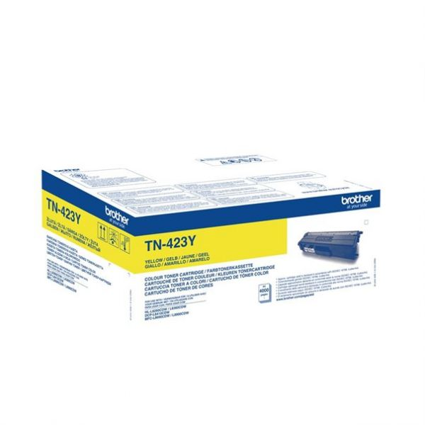 Brother Jumbo Toner TN-423Y yellow ca. 4000 Seiten