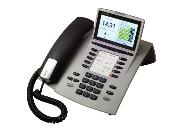 Agfeo ST45 IP Systemtelefon -silber-