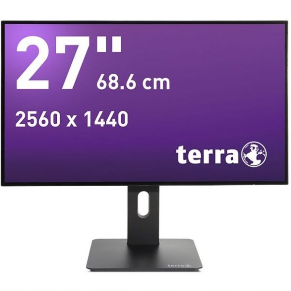 "27"" TERRA LED 2766W PV schwarz DP/HDMI GREENLINE PLUS"