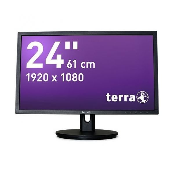 "24"" Terra LED 2435W HA TFT-Display -mattschwarz-"
