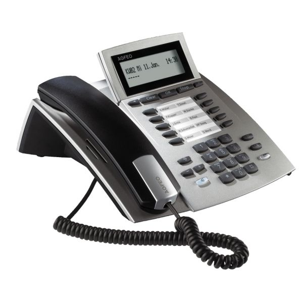 Agfeo ST22 Systemtelefon -silber-