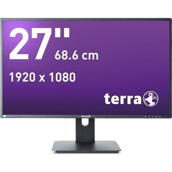 "27"" Terra LED 2756W PV TFT-Display -mattschwarz-"