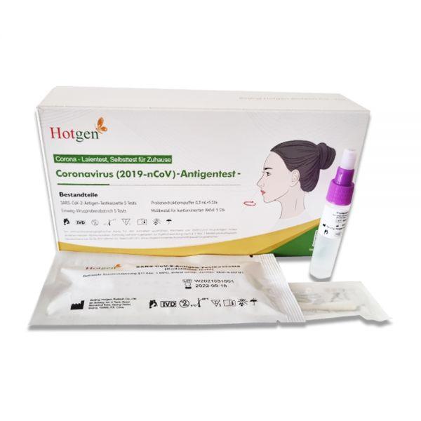 Corona-LaienTest SARS-CoV-2 HotgenNovel AntigenRapid 5er Pack