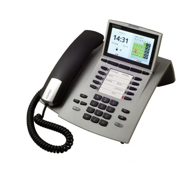 Agfeo ST45 Systemtelefon -silber-