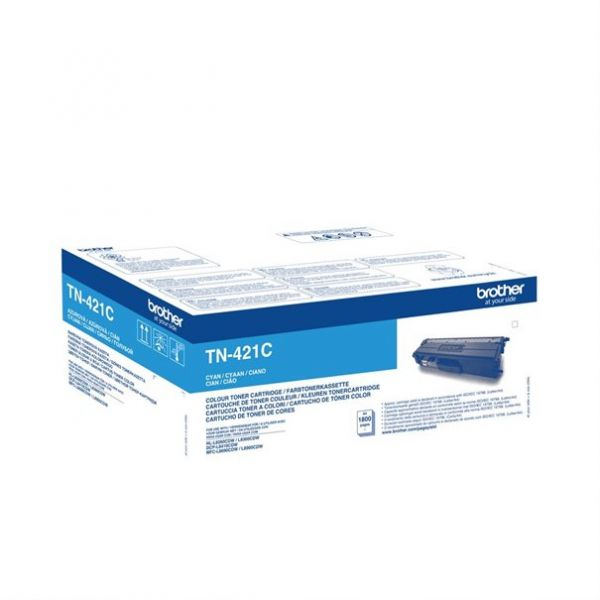 Brother Toner TN-421C cyan ca. 1800 Seiten